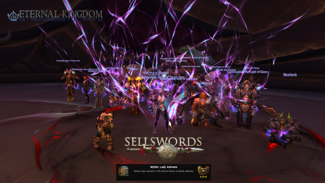 Sellswords Ashvane Kill